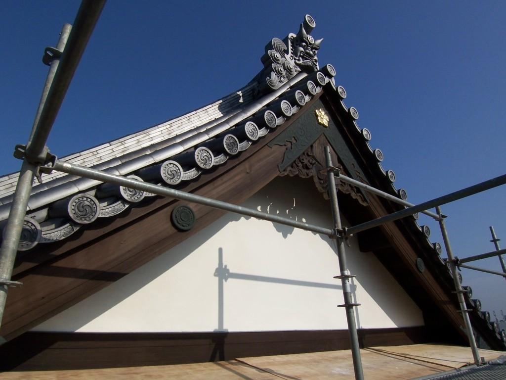 東京都北区・寺院改修