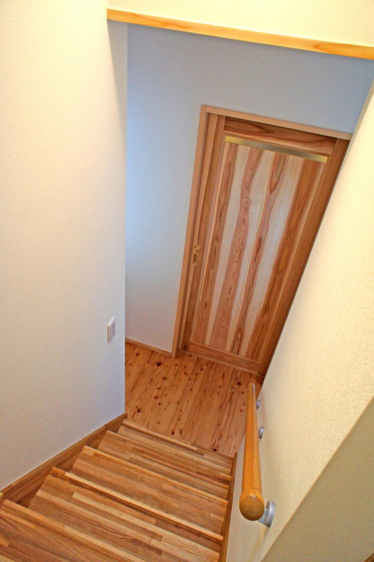 階段から1階